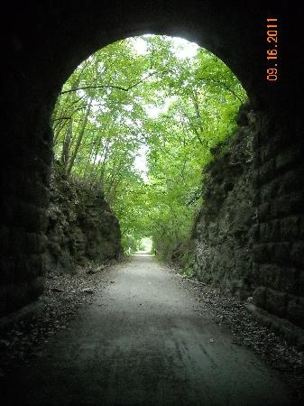 Just follow the Katy Trail to Rocheport Missouri    Loved to bike here many years ago