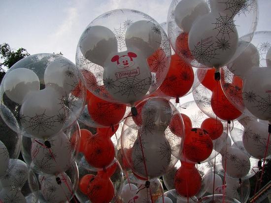 Halloween Balloons on Main Street by Loren Javier, via Flickr
