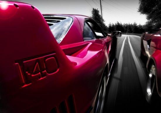 Shot of the Day. Ferrari vs Lamborghini. F40 vs Countach.