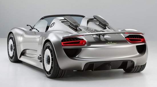#Electric #Car: The #Porsche 918-spyder is a mid-engined sport car