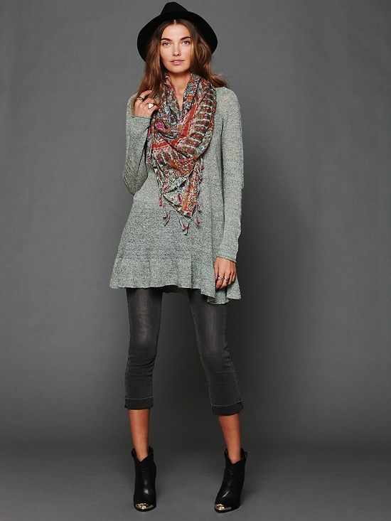 Free People Skinny Pull On Crop at Free People Clothing Boutique. www.freepeople.co...