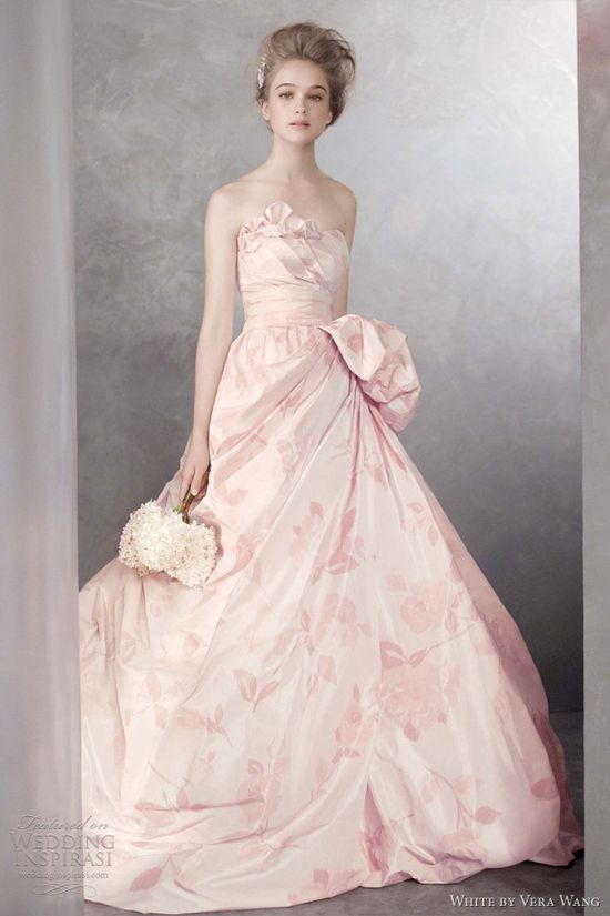 gorgeous gown from the White by Vera Wang 2012 Collection