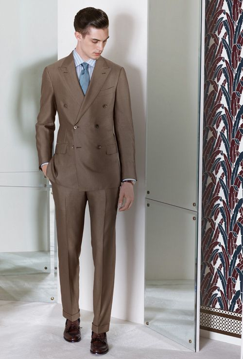 Ermenegildo Zegna Made to Measure S/S 2013 lookbook