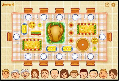 The Thanksgiving Dinner game is a fun way to practice logic and problem solving!