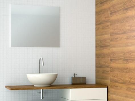 Modern bathroom.