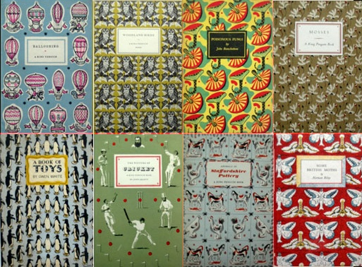 King Penguin book covers