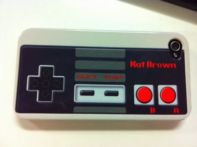 NES iPhone case.