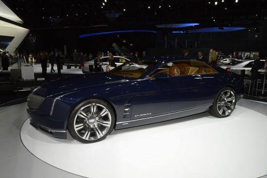Cadillac's Elmiraj at The Los Angeles Auto Show 2013