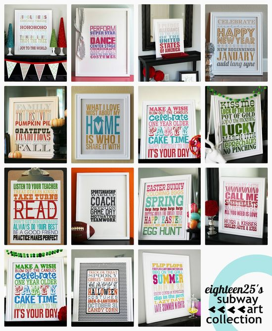 Free   The mother load of printables!
