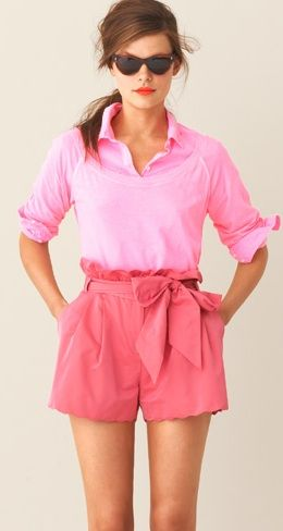 j.crew in pinks!