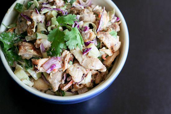 Thai-style Chicken Salad #recipe
