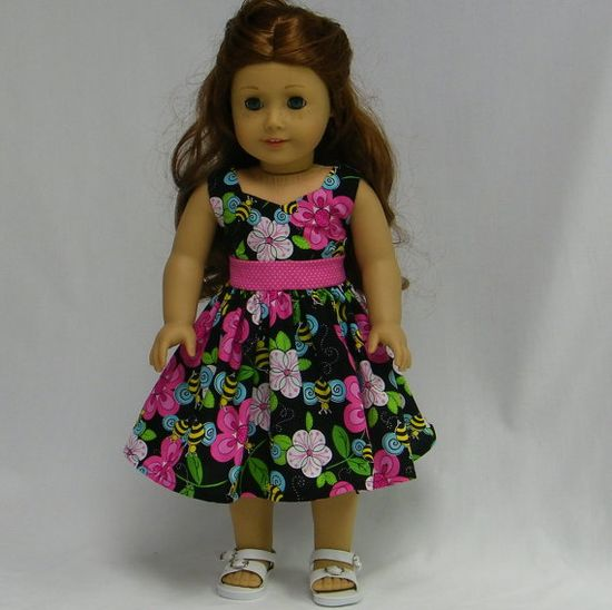 Fun Spring and Summer Dress for American girl by juliascreations, $18.00