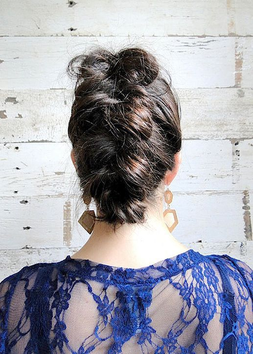 How to create a French braid faux-hawk