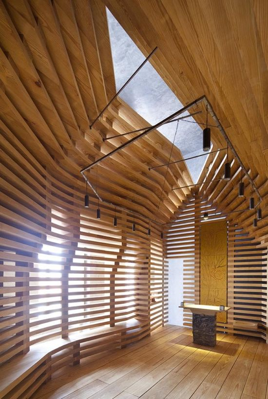 ArchDaily Building of the year Awards 2011 - Religious Architecture Category Winner: Chapel Tree of Life Architects:  Cerejeira Fontes Arquitectos  - Braga, Portugal
