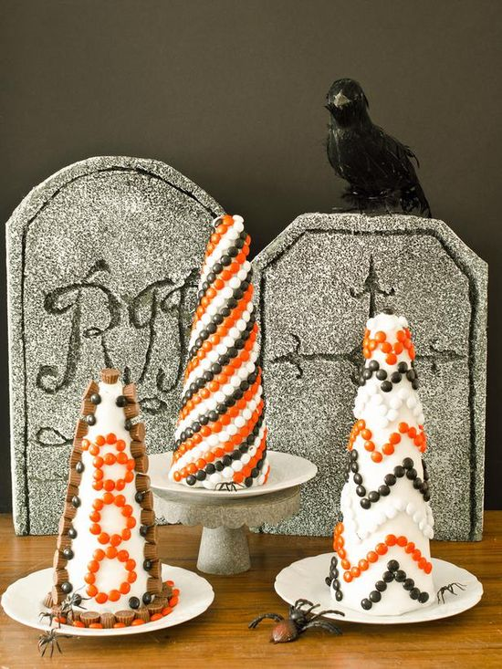 Halloween Decorating: Make a Candy Topiary>> www.hgtv.com/...