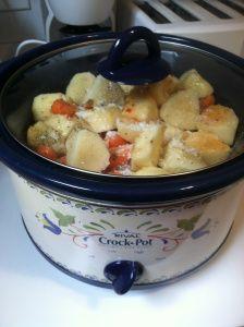 Italian chicken, potato, and carrot crock pot dinner :)