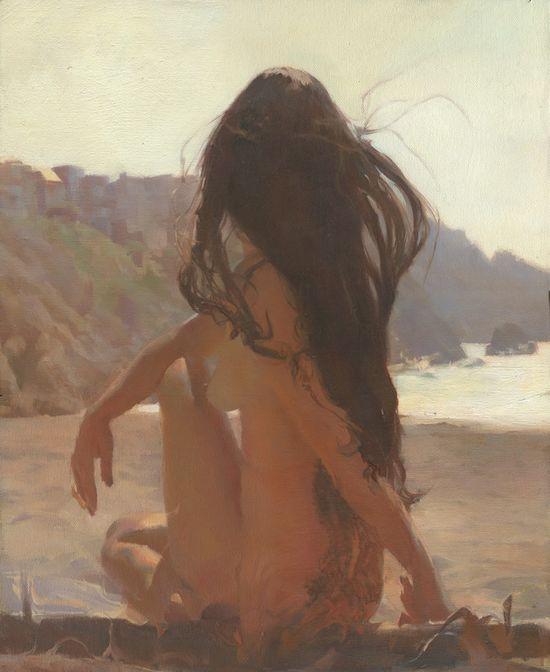 "Saatchi Online Artist: Sergio Lopez; Oil, Painting ""Fata Morgana"""