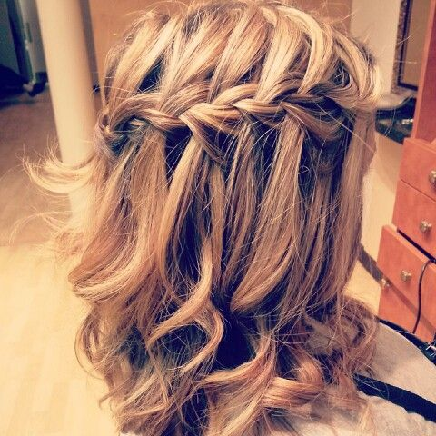#waterfallbraid #braid #hair