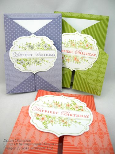 dostamping with dawn  double fold gate card