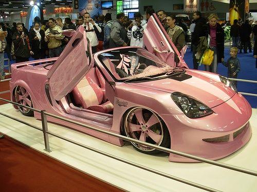 Pink #celebritys sport cars #sport cars #luxury sports cars