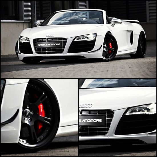 In love with this car!- Audi R8!