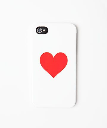 iPhone Case by Ban.do. You'll never stop loving this little graphic heart on the back of your iPhone. Looking for a $25 Valentine's Day gift? This is IT.