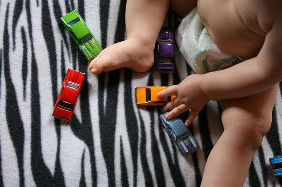 baby + toys