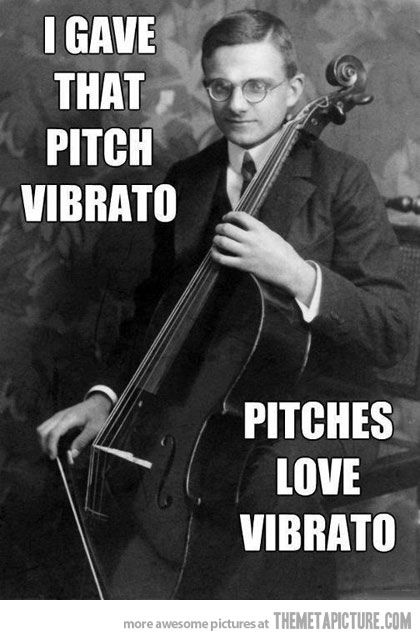 Pitches love it…