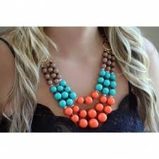 turquoise coral beaded jewelry