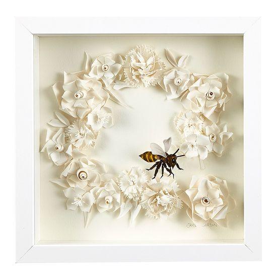 Broken Wreath Wall Art - James Gordon - T&W Presents - Hand Made Markets
