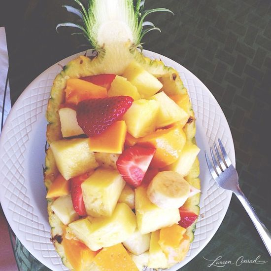 breakfast of champions #pineapple #fruit