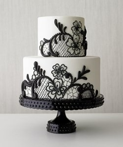 #WHBM Black & White cake.*°•.¸? ?