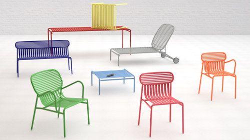 Bright Striped Outdoor furniture