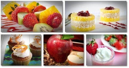 best healthy desserts