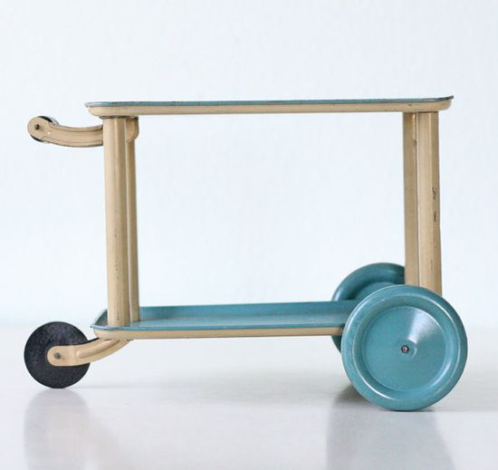Vintage Toy Cart by bellalulu on Etsy