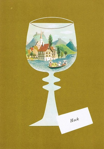 Dinner menu from the P & O liner Iberia, 1966.