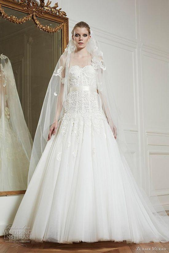 Zuhair Murad's dreamy Fall/Winter 2013 bridal collection.
