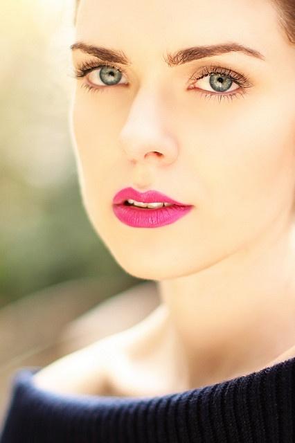 light makeup.
