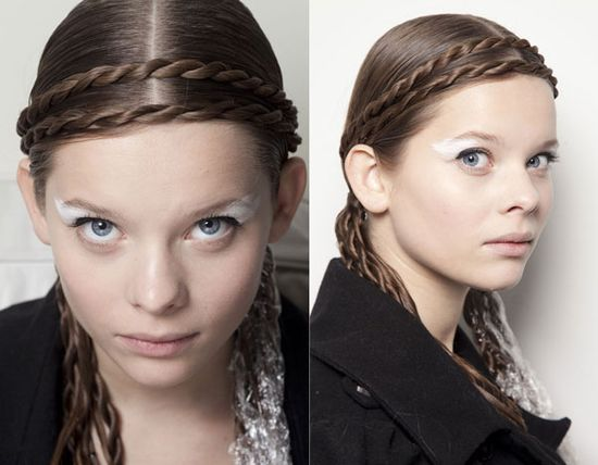 """Top Hair Trends From the Fall 2012 Runways"" - Harper's BAZAAR"
