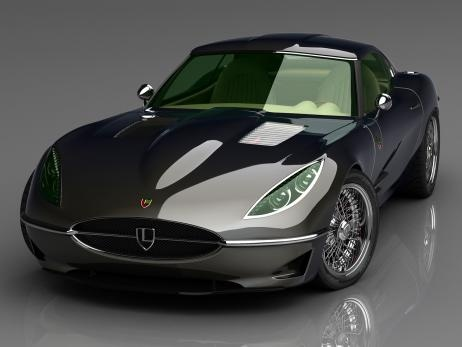 ? Lyonheart K 2012: Sports car in the style of the Jaguar E-type