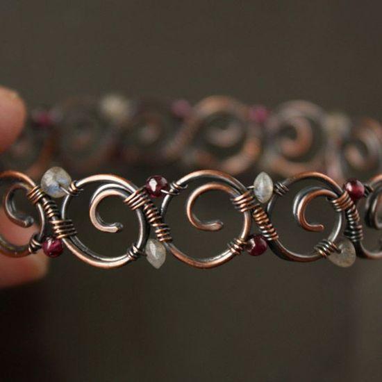 Spirals bracelet