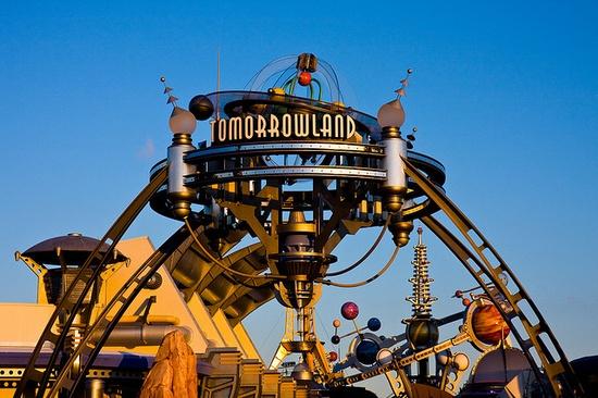 Tomorrowland, Walt Disney World, Orlando, Florida.