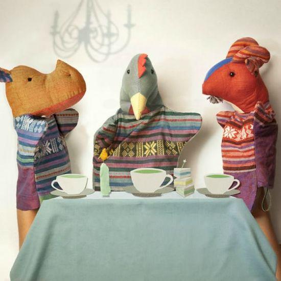 Handmade Puppets by Nhocchi on Etsy