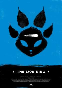 Minimal Movie Posters - Lion King