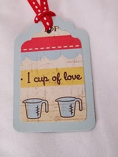 Gift tag for baked goodies.
