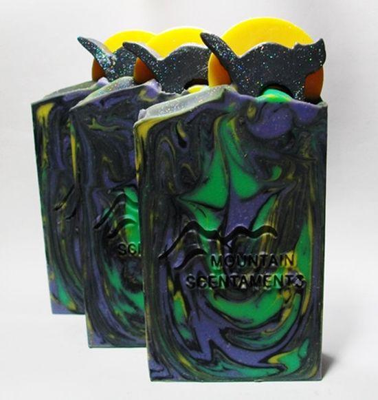 Goat Milk Soap  Black Magic  Cold Process by MountainScentament, $5.00