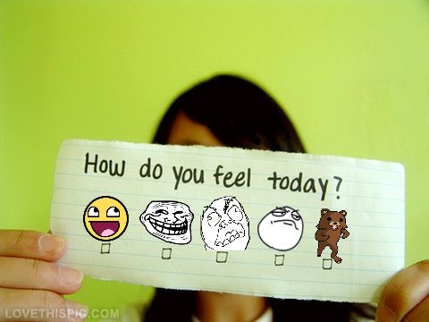 How do you feel today? funny cute comics girl cartoon tumblr photo color meme funny quote funny quotes humor humor quotes funny pictures troll