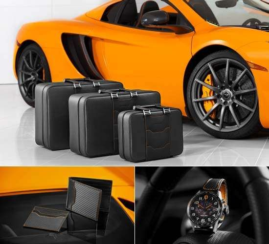 McLaren Releases Exclusive Luggage & Sports Car Accessories trendhunter.com