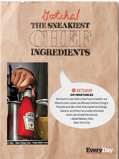 We asked 22 chefs for their secret supermarket staple ingredients. Click on the photo to find out their deceptively delicious shortcuts!