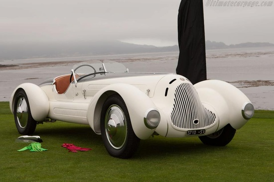 STYLE  Alfa Romeo 6C 1750 Gran Sport Aprile Spider Corsa  Constructed in 1931, this 6C 1750 Gran Sport... pinned with Pinvolve